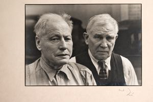 Image of Portrait of Two Men