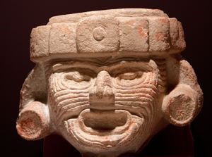 Image of Head of Huehueteotl, the Aged Fire God