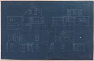 Image of Dr. and Mrs. Wallace Dyer residence, commission 4124, Terra Haute, Indiana