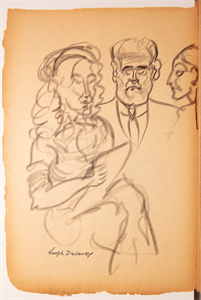Image of Figure and portrait sketches
