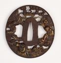 Image of Tsuba (Sword Guard) (Legend of Jiraiya)