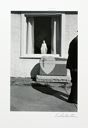 "Image of Man Passing Blank Gravestone, Northhampton from the ""Eva Rubinstein"" Portfolio"