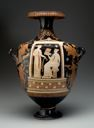 Image of Apulian Red Figured Funerary Hydria
